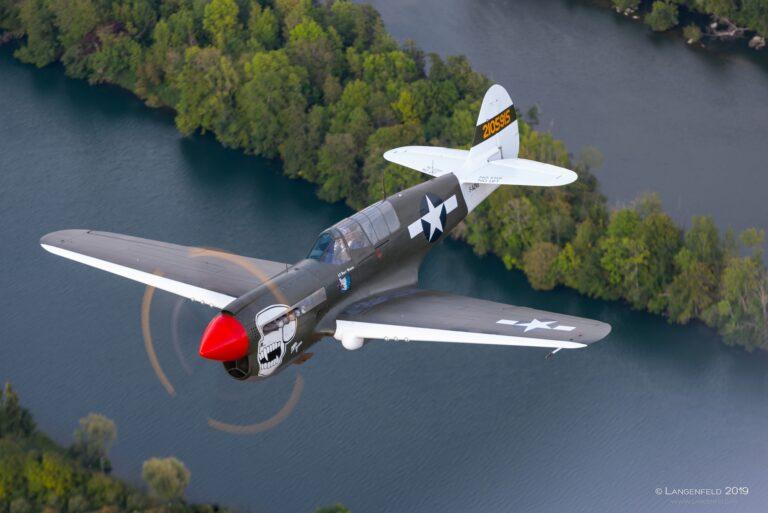 P-40 N5, F-AZKU, © PE Langenfeld