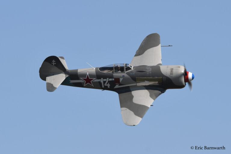 Yak-11 F-AZNN @ Eric Barnwarth
