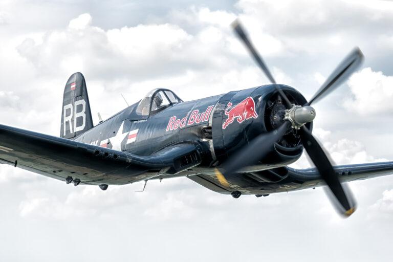 Chance Vought F4U-4 Corsair © Vali Muresan / Flying Bulls