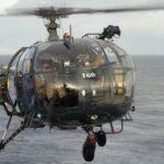 Alouette III en vol